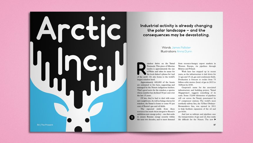Weapons of Reason: Arctic Illustration
