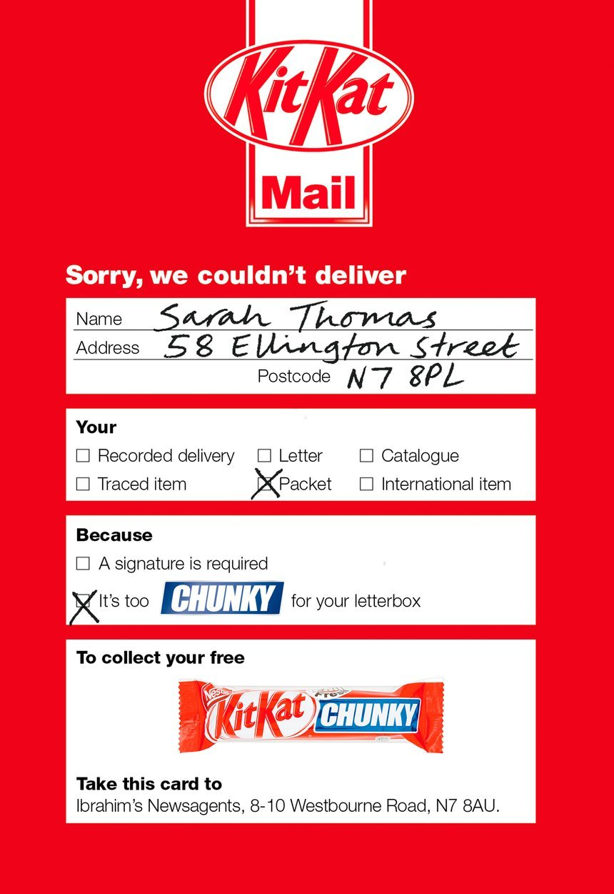 award winning direct mail