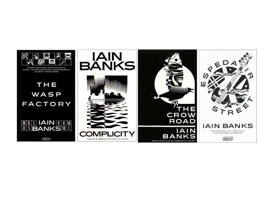 Ian Banks Book Cover Complicity