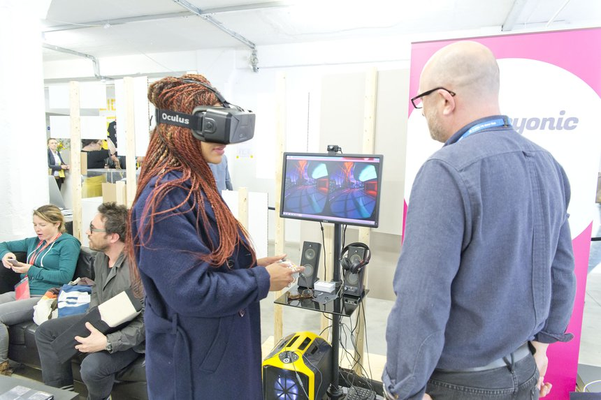 Oculus Rift at D&AD Judging 2015