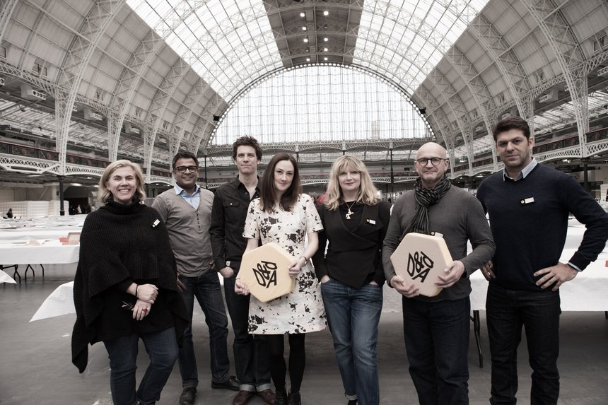 D&AD Judging 2014 Direct Jury at kensington olympia