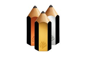 D&AD Wood, Graphite, Yellow, White and Black Pencils