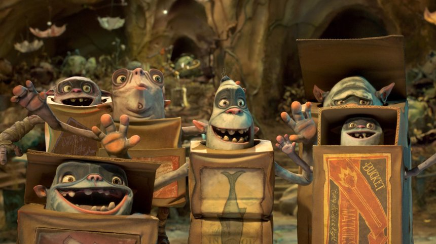 Boxtrolls Box design