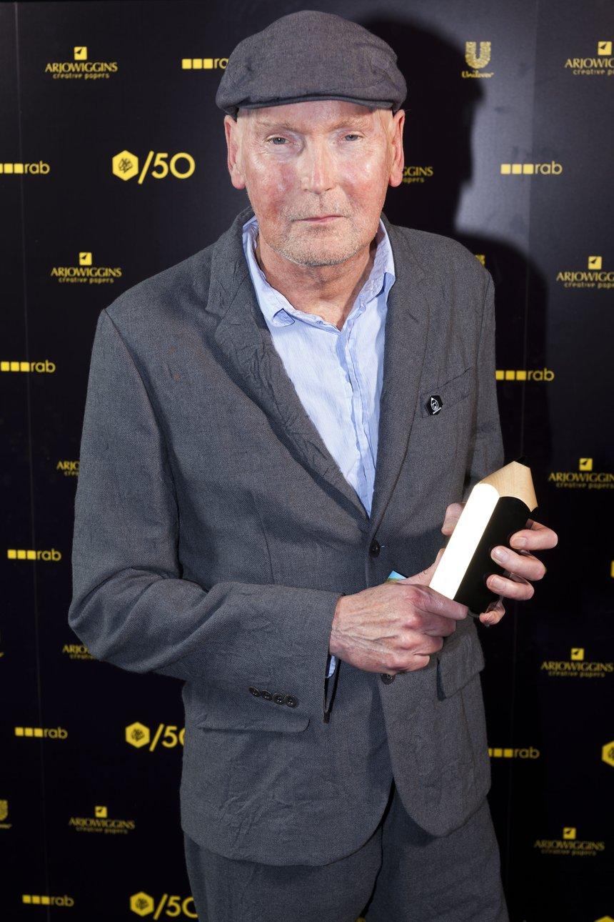 Frank Budgen Most Awarded Director D&AD