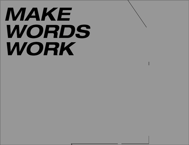 Vikki Ross reminds us why words are the copywriter's weapon of choice
