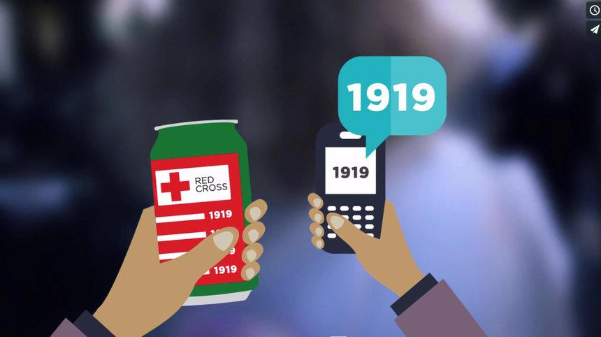 Red Cross Denmark Migrant Campaign